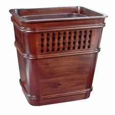 Grid Waste Basket with Insert