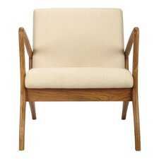 Soren Ventura Lounge Chair Teak - Grey Wash
