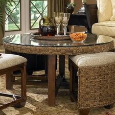 Martinique Coffee Table with Nested Stools