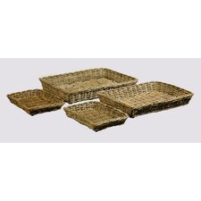 Java Serving Tray (Set of 4)