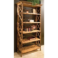 "Coastal Chic 77.5"" Wall Bookcase"