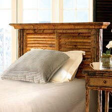<strong>Kenian</strong> Coastal Chic Louvered Headboard