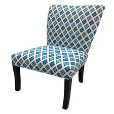 <strong>Sole Designs</strong> Nile Cotton Wingback Cotton Slipper Chair (Set of 2)