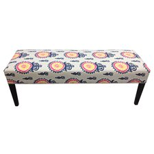 <strong>Sole Designs</strong> Calandra Cotton Crown Bench