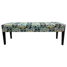 <strong>Sole Designs</strong> Cotton Tufted Bench