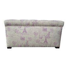 <strong>Sole Designs</strong> Angela Upholstered Storage Bench