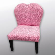 <strong>Sole Designs</strong> Grace Heart Back Kid's Chair