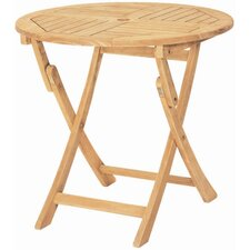 <strong>HiTeak Furniture</strong> Royal Round Folding Table