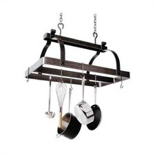 <strong>Enclume</strong> Premier Rectangle Hanging Pot Rack