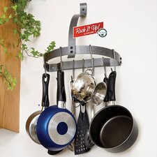 <strong>Enclume</strong> RACK IT UP! Half Moon Wall Mounted Pot Rack