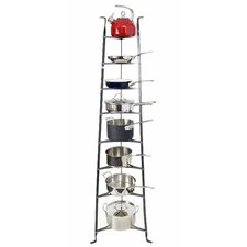 Premier 8-Tier Cookware Standing Pot Rack