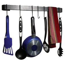 <strong>Enclume</strong> RACK IT UP! Wall Mounted Utensil Bar Pot Rack