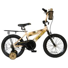 Boy's Roadmaster Tracker Cruiser Bike with Training Wheels