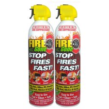 <strong>Max Professional</strong> Fire Gone Suppressant (Set of 2)