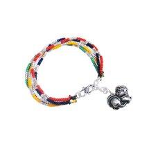 Liu Li Art Chinese Zodiac Dog Charm Bracelet