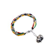 Liu Li Art Chinese Zodiac Pig Charm Bracelet