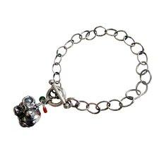 Ox Gemstone Charm Bracelet
