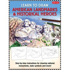 Learn to Draw American Landmarks and Historical Heroes