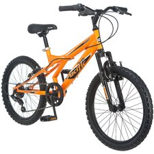 "Boy's Exploit - 20"" Front Suspension 6 Speed BMX Bike"