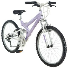 "Girl's 24"" Chromium Bike"