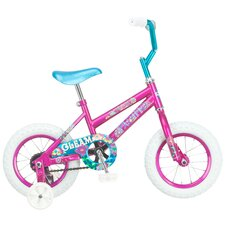 "Girl's 12"" Gleam Cruiser Bike"
