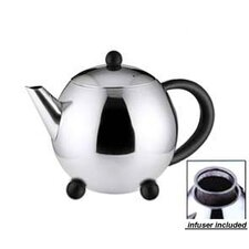 32 Oz Teapot with Black Handle