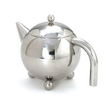 0.94 qt. Footed Teapot with Infuser