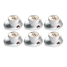 Porcelain Cappuccino Cup (Set of 6)