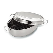 "15.2"" x 10"" Covered Oval Roaster"