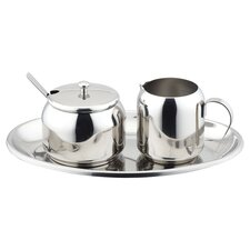 5 Piece Cream and Sugar Set