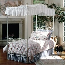 <strong>Hillsdale Furniture</strong> Emily Bed with Optional Canopy