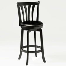 "Swivel 25.5"" Savana Bar Stool with Cushion"