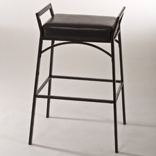 "<strong>Hillsdale Furniture</strong> Hawthorne 24"" Adjustable Bar Stool with Cushion"
