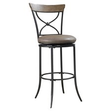 "Charleston 30"" Swivel Bar Stool with Cushion"