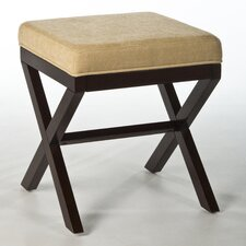 <strong>Hillsdale Furniture</strong> Morgan Wood Vanity Stool
