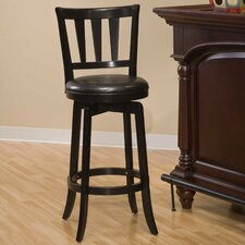 <strong>Hillsdale Furniture</strong> Swivel Presque Isle Bar Stool with Cushion