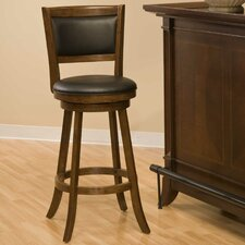 "Swivel 29"" Bar Stool with Cushion"