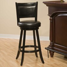 "<strong>Hillsdale Furniture</strong> Swivel Dennery 24"" Bar Stool with Cushion"