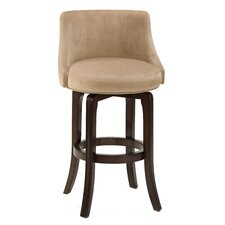 "Swivel 29.75"" Bar Stool with Cushion"