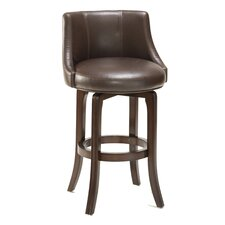"<strong>Hillsdale Furniture</strong> Swivel 29.75"" Bar Stool with Cushion"