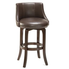 "Swivel 25.25"" Bar Stool with Cushion"