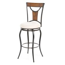 "Pacifico 30"" Swivel Bar Stool with Cushion"