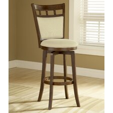 "Jefferson 30"" Swivel Bar Stool with Cushion"