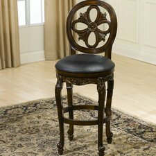 "Rosalee 24"" Swivel Bar Stool"