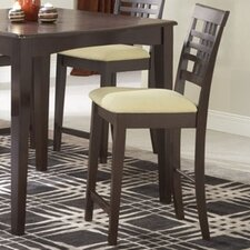 "Tiburon 24"" Bar Stool with Cushion (Set of 2)"