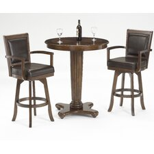 <strong>Hillsdale Furniture</strong> Ambassador 3 Piece Pub Set