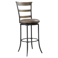 "Charleston 26"" Swivel Bar Stool with Cushion"