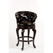 "Beckett 26"" Swivel Bar Stool with Cushion"