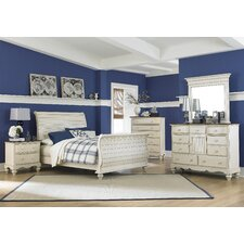 Pine Island Sleigh 4 Piece Bedroom Collection