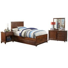 Bailey Twin Panel 5 Piece Bedroom Collection
